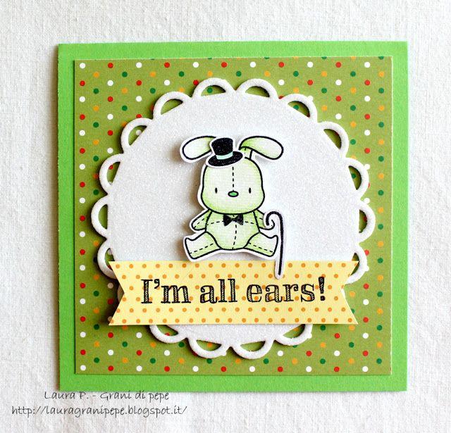 Grani di pepe: I'm all ears - card