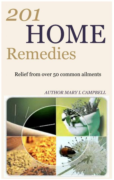 Natural Home Remedies DIY - 201 Home Remedy Recipes for Over 50 Common Ailments - Free ebook download!
