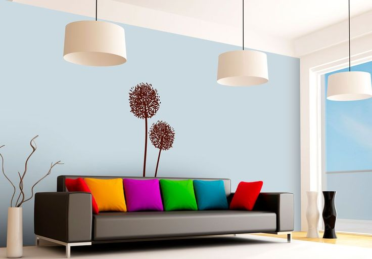 Dandelion in pairs - Wall sticker