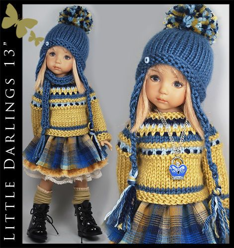 US $124.50 New in Dolls & Bears, Dolls, Clothes & Accessories. Ends 9/25/14. From maggie_kate_create. SOLD for $145.99