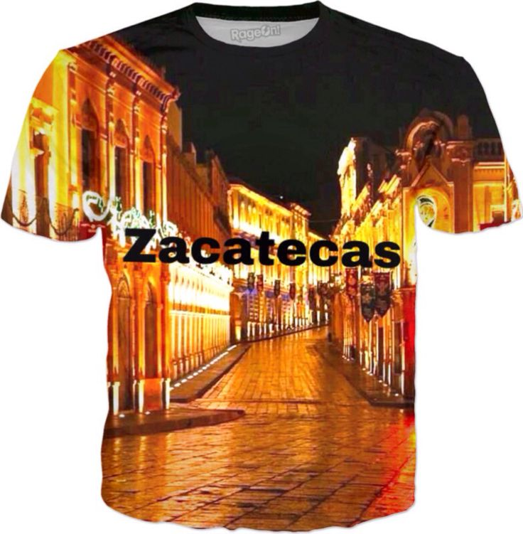 A personal favorite from my Etsy shop https://www.etsy.com/listing/514765650/zacatecas-mexico-playera