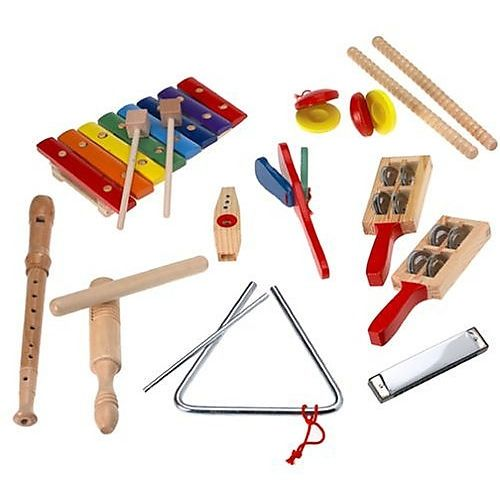 Melissa and Doug Instruments-have your own marching band or use along with music CD.