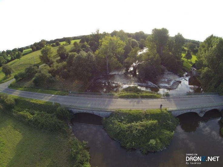 Aerial drone Photo from France by Xavdrone : 70 Le Gué de Loré, 61330 Loré, France
