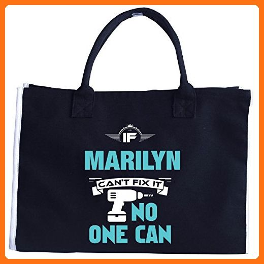If Marilyn Can't Fix It No One Can Awesome Marilyn Gift - Tote Bag - Top handle bags (*Amazon Partner-Link)
