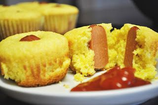 Individual Rivalry: Quick and Easy Corn-Dog Muffins