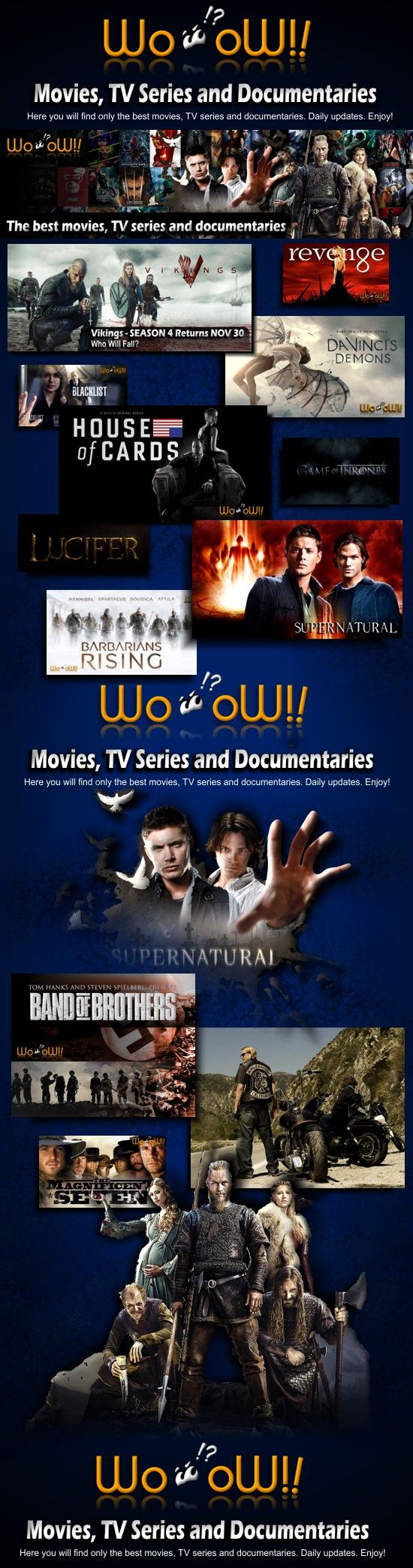 Movies and TV Series - WoOoW!! | Here you will find only the best movies, TV series and documentaries. Daily updates. Enjoy! Visit: https://moviestvserieshm.wordpress.com/ +++ #movies #TVseries #news #marketing #WoOoW