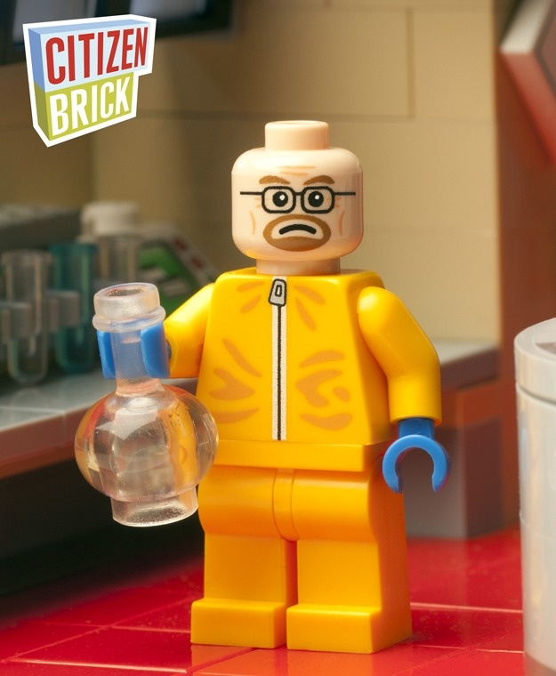 'Breaking Bad's' Walter White is a Lego man