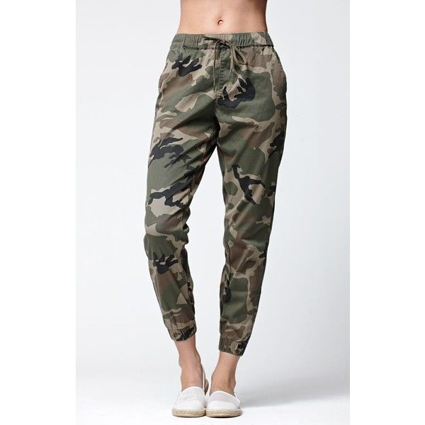 Amazing  Womens Casual Military Army Camouflage Sports Gym Joggers Jogging