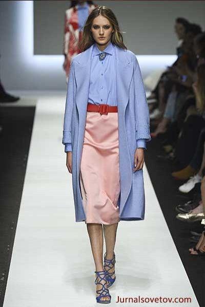 Модный цвет 2016 Серенити Ermanno-Scervino
