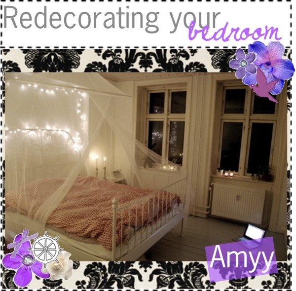 Redecorating your bedroom by the polyvore tips liked on for Redecorating bedroom