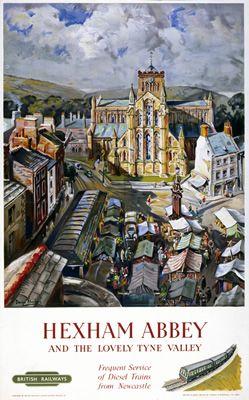 Hexham Abbey Tyne Valley aug16