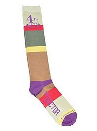HOTTOPIC.COM - Doctor Who Fourth Doctor Knee-High Socks