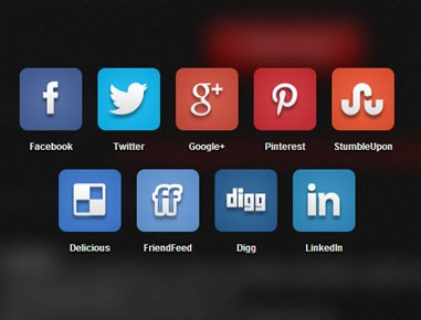 social – jQuery Plugin for Listing Social Profiles and Sharing