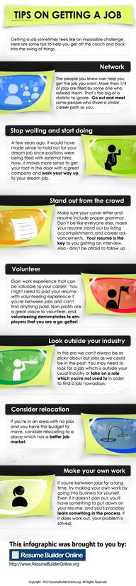 Tips On Getting A Job