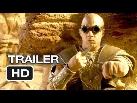 Riddick Official TRAILER 1 (2013) - Vin Diesel, Karl Urban Movie HD - YouTube