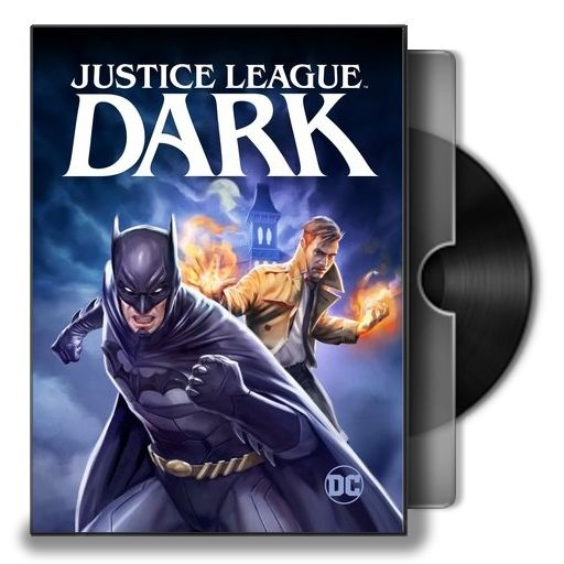Justice League Dark Animated Movie Folder Icon by iamuday