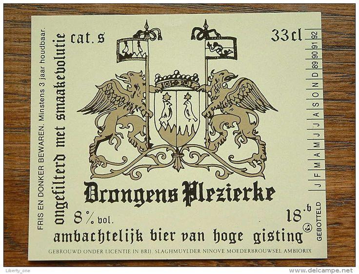 DRONGENS PLEZIERKE CAT. S 33 Cl. 8 % Onder Lic. In Brij Slaghmuylder Ninove ( Details Op Foto ) !!