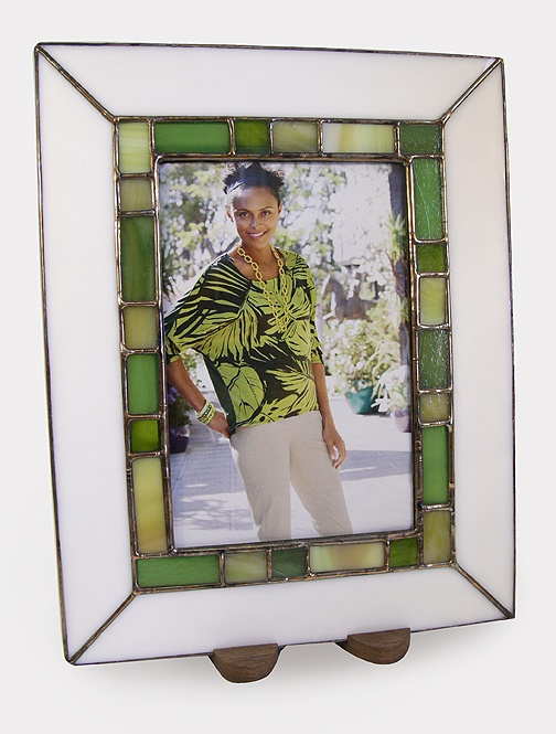 stained glass picture frame by the berkenstocks goggleworks store pinterest the o 39 jays. Black Bedroom Furniture Sets. Home Design Ideas