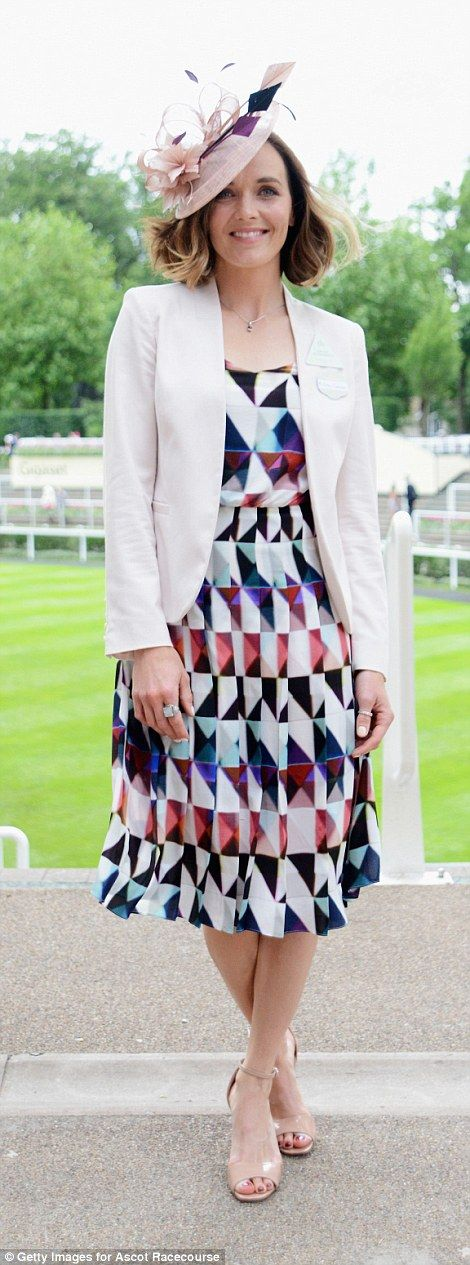 Royal Ascot, June 16, 2016. Cyclist turned jockey Victoria Pendleton attended for the second day running...