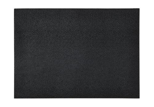 Shagreen Black Placemats Set/4