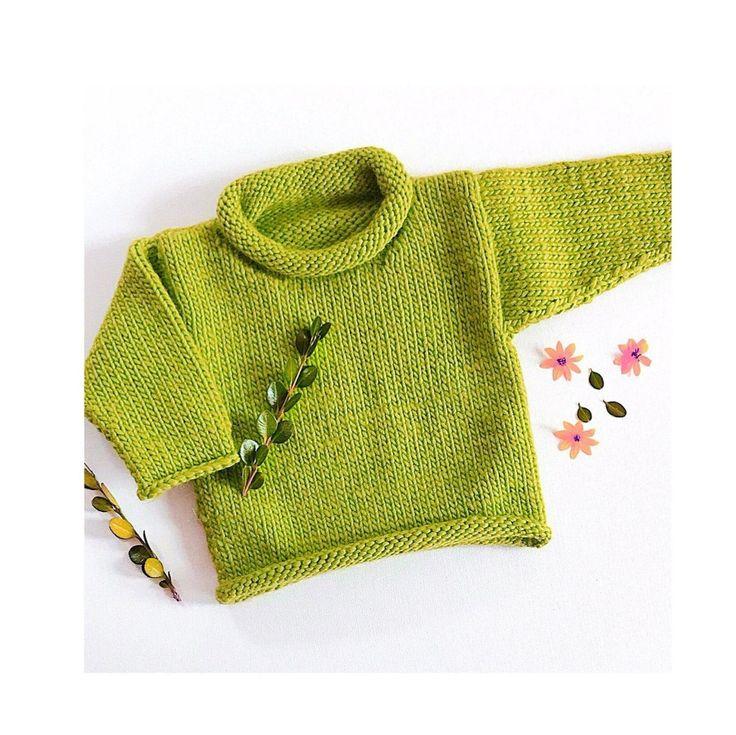 Knitting Pattern *PDF* Easy Bulky Sweater Pattern/Easy ...