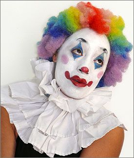 traditional clown faces - Google Search