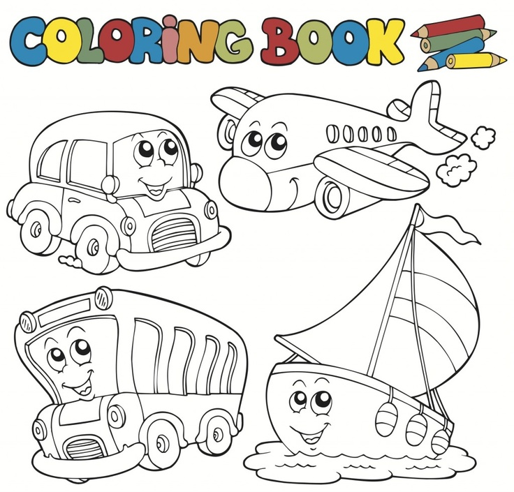 transportation coloring pages for kids its a transportation coloring