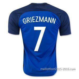 1ème maillot de foot France GRIEZMANN 2016 EUROPE €20.9