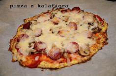 Bez mąki i cukru: pizza z kalafiora - bez mąki