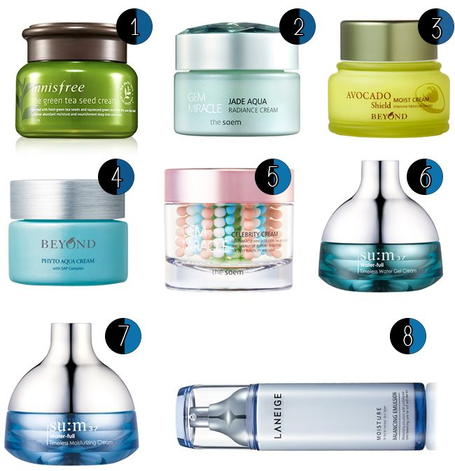 The best korean skincare products for dry/sensitive skins