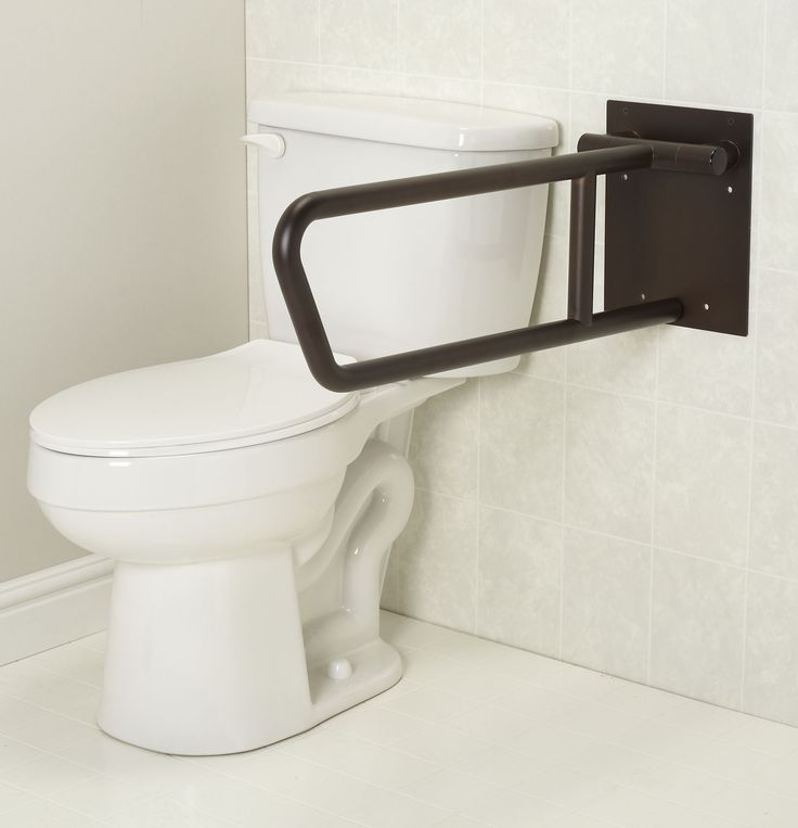 Photo Gallery On Website Freedom Swing Up Toilet Grab Bar Bronze finish x