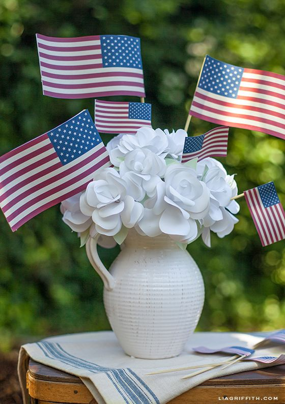 Printable Vintage Flags for Your Fourth of July Celebration