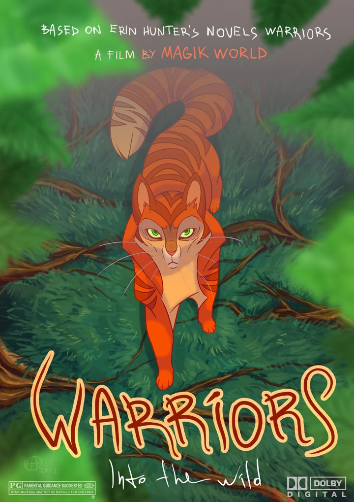 warriors into the wild movie poster by xepxyudeviantart