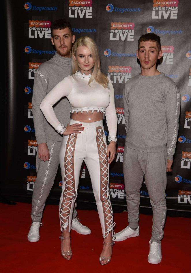 Grace Chatto From Clean Bandit Wearing Yves Heels From Merah Vodianova At Radio City Clean Bandit Slim Girl Women S Wardrobe