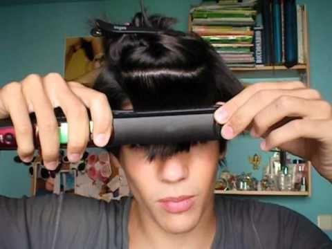 plancharse el pelo corto