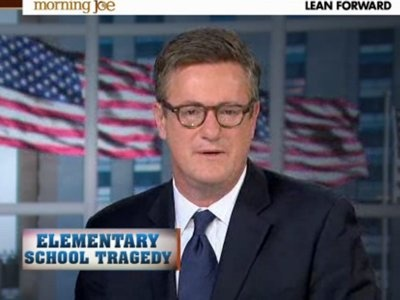 "Joe Scarborough ""Politicians can no longer be allowed to defend the status quo. They must instead be forced to defend our children. Parents can no longer take ""no"" for an answer from Washington when the topic turns to protecting our children."""
