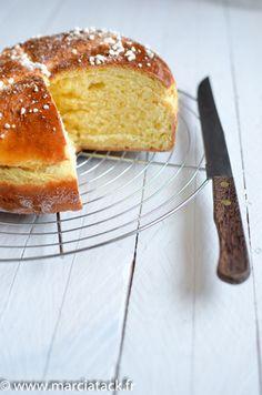 La brioche mouna : légère et gourmande spécial Pâques - Recette - Marcia 'Tack