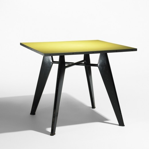 Jean prouv occasional table for ateliers jean prouv for Table quiz hannover