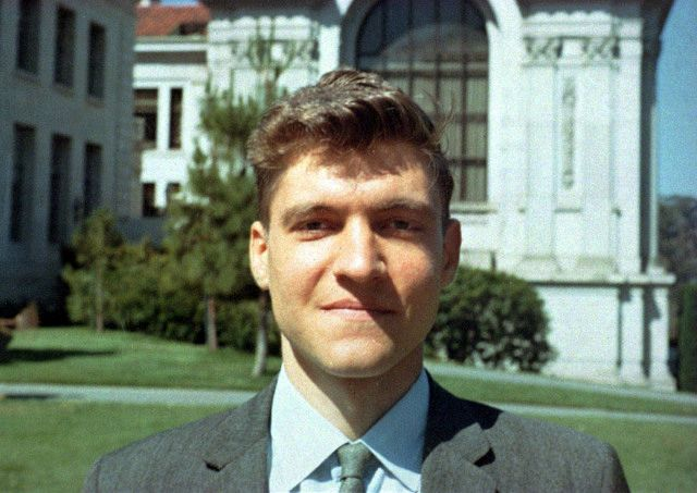 Theodore Kaczynski, a.k.a Ted Kaczynski. Better known as the domestic terrorist 'Unabomber'. Pictured here when he was a professor in 1968. The Polish-American from Chicago was obsessed with math according to his professor Dr. Piranian.
