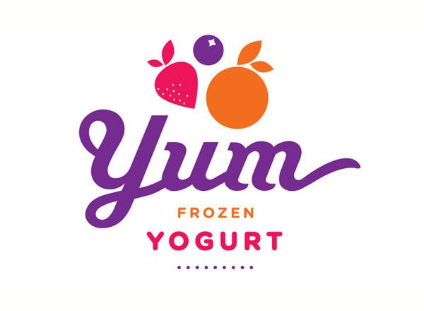Yum Frozen Yogurt, Logo Creation | Locus Interactive