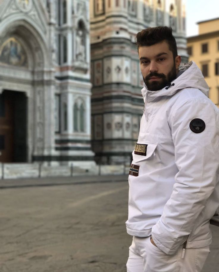 "Destined to stand out: a special thanks to @bellons1994 and our ""all-white"" team who guided curious seekers on a wonderfully unexpected journey through #florence  #thesecretcollection #napapijri #firenze #pittiuomo #thereisalwaysajourney"