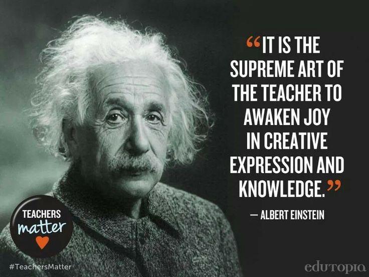 Albert Einstein Reading Quote: Teaching Quotes By Albert Einstein. QuotesGram