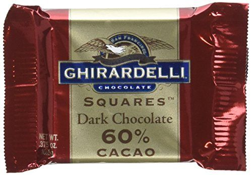 Ghirardelli Chocolate Squares 60 Cacao Dark Chocolate 0375Ounce Squares Pack of 540 -- Check out this great product.