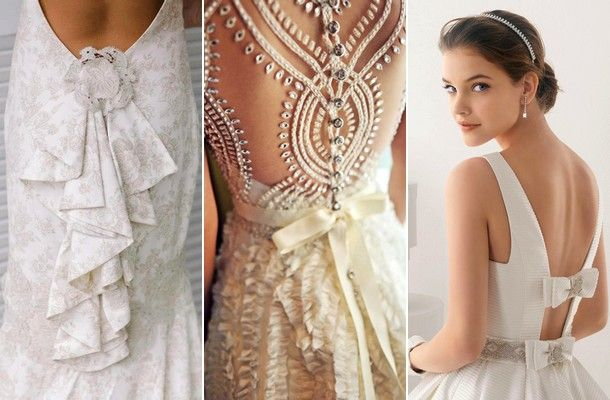 Hátul nyitott menyasszonyi ruhák | retikul.hu