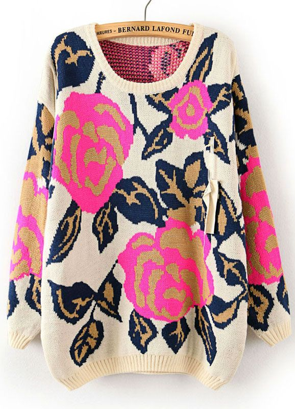 this sweater would make me happier