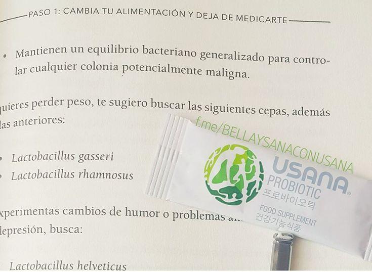 Si quieres perder peso incluye en tu alimentación probióticos. Conoce más en www.bellaysanacon.usana.com Celular/WhatsApp 8117246128 #USANA #Probiotic #USANAProbiotic #RESET #USANAReset #Monterrey #Suplementos #Vitaminas