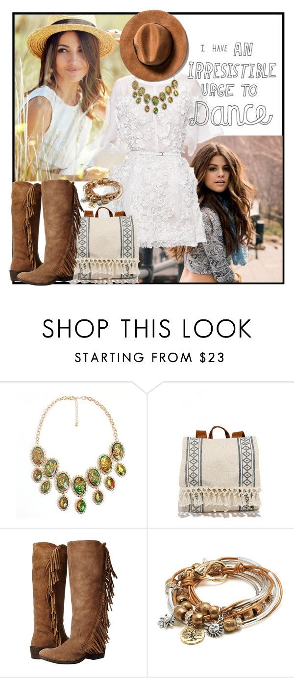 """""""Tiny Dancer"""" by pearlydewdrops ❤ liked on Polyvore featuring Elie Saab, Billabong, Roper and Lizzy James"""