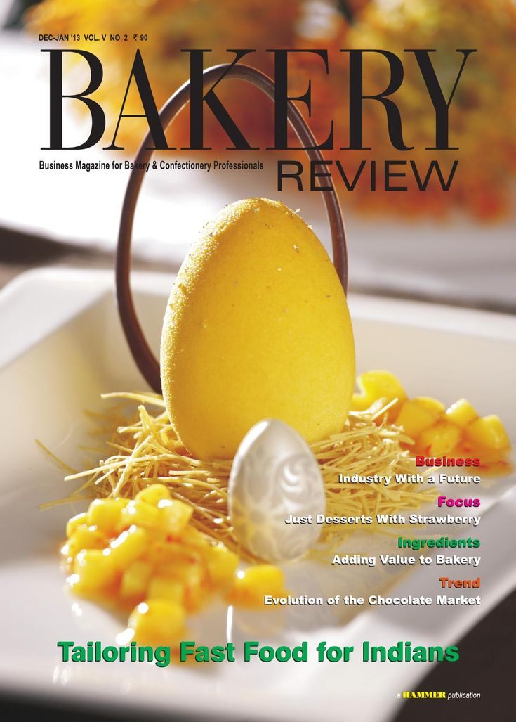 Bakery Review  Dec-Jan 2013 ( The Magazine for Bakery & Confectionery Professionals)