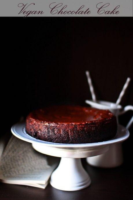 Chocolatey Rich Vegan Chocolate Cake (Egg & Dairy Free)