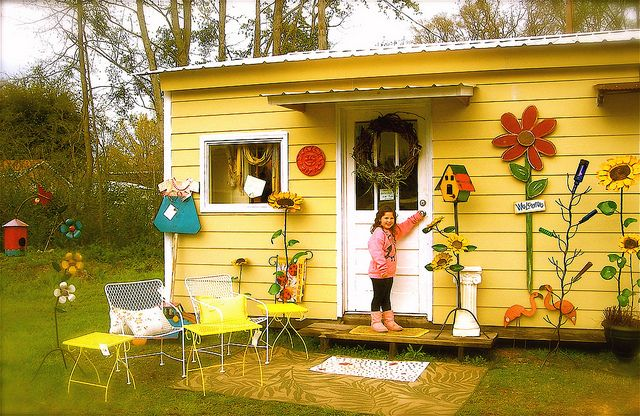 Life-size doll house in the back yard. I wish! | Flickr - Photo Sharing!